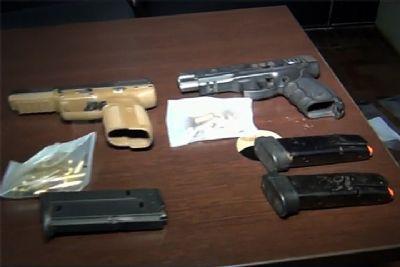 Homem é preso em Pilar do Sul com armas e pistola capaz de perfurar colete e carros blindados