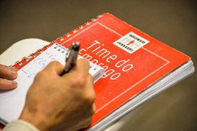 PAT prorroga inscrições do 'Time do Emprego' em Pilar do Sul