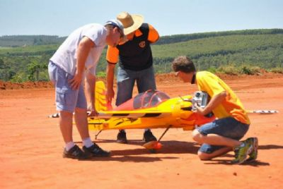 Domingo tem Encontro Regional de Aeromodelismo em Pilar do Sul