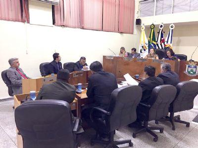 Câmara Municipal realiza sessão ordinária nesta terça-feira