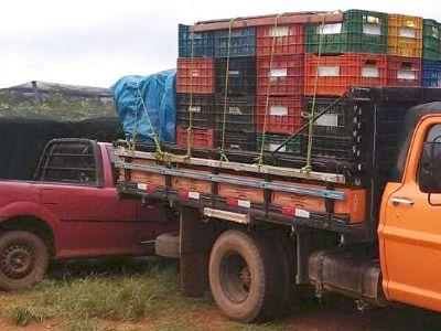Caminhão F-350 é furtado no Jardim Nova Pilar