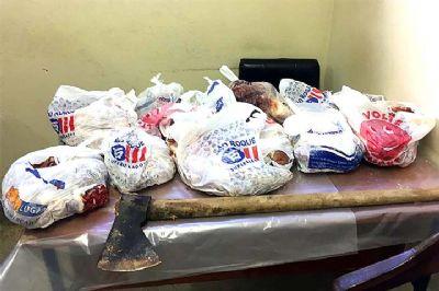 Polícia identifica e indicia casal acusado de matar boi e furtar carne