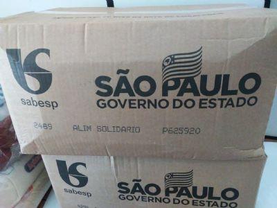 Assistência Social recebe 363 cestas básicas do governo estadual