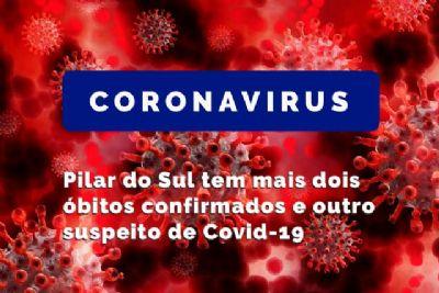 Pilar do Sul tem mais dois óbitos confirmados e outro suspeito de Covid-19