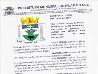 Novo decreto municipal flexibiliza quarentena e libera funcionamento parcial de comércios