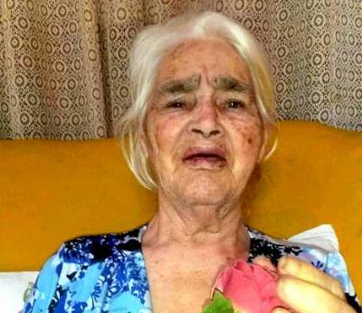 Faleceu Maria das Dores Araújo