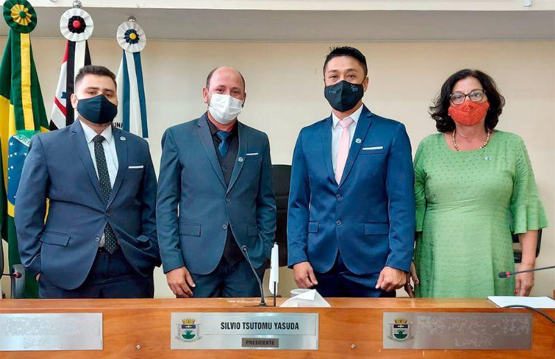 Silvio Yasuda é eleito presidente da Câmara Municipal de Pilar do Sul