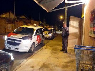 Minimercado é assaltado na Santa Cecília