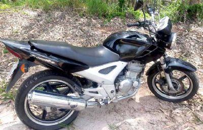 Moto furtada em Sorocaba é encontrada em mata de Pilar do Sul