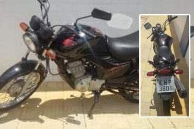 Motocicleta Honda CG Fan é furtada em frente à escola Iha