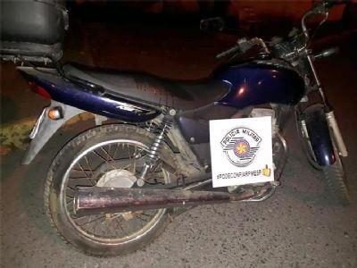 Ladrão é preso após furtar motocicleta na Santa Casa