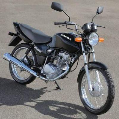 Motocicleta é furtada durante o dia no Marajoara
