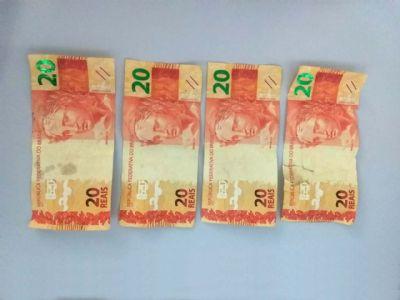 PM detém jovem e apreende dinheiro falso em Pilar do Sul
