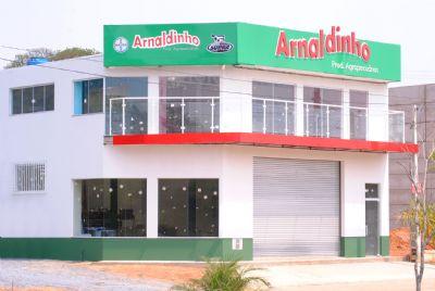 Arnaldinho Agropecuária inaugura nesse sábado sua nova sede