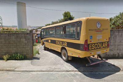 Dois homens são detidos suspeitos de furto de óleo diesel de ônibus escolar da Prefeitura