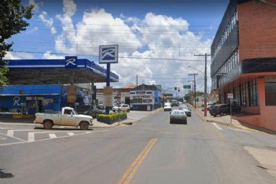 Ladrão armado assalto posto de combustíveis em Pilar do Sul