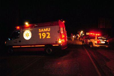 Motoboy sofre lesões graves em acidente na Antonio Lacerda