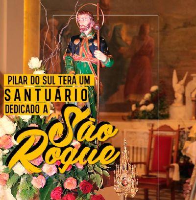 D. Gorgônio confirma que Pilar do Sul terá um Santuário de São Roque