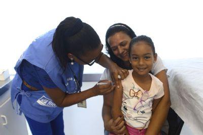 Sábado tem vacinação contra sarampo e paralisia infantil para crianças até 5 anos